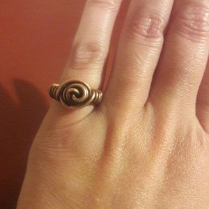 Jewelry - Handmade 16 Gage Copper Rose Ring